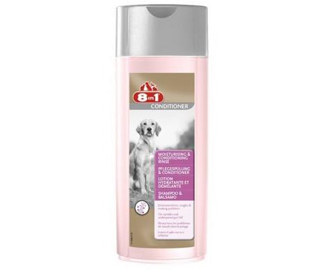 8in1 MOISTURISING & CONDITIONING Rinse бальзам-кондиционер увлажняющий для собак