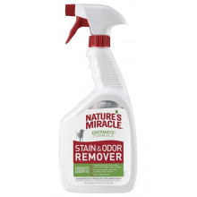 8in1 Natures Miracle Stain and Odor Remover Spray устранитель пятен и запаха для собак