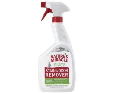 8in1 Nature's Miracle Stain Odor Remover Spray устранитель пятен и запахов для кошек