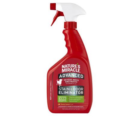 8in1 Natures Miracle Advanced Stain Odor Eliminator Sunny Lemon уничтожитель пятен и запахов для собак с ароматом лимона