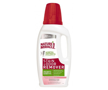 8in1 Nature's Miracle Stain Odor Remover устранитель пятен и запахов для собак с ароматом грейпфрута