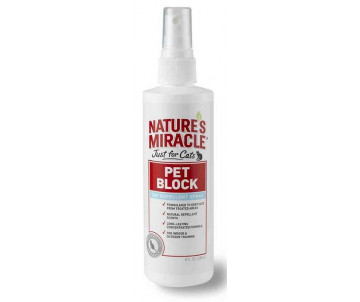 8in1 Natures Miracle Pet Block Спрей отпугивающий для кошек