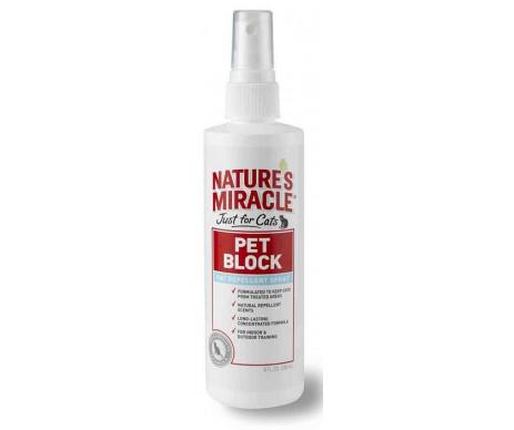 8in1 Natures Miracle Pet Block Спрей отпугивающий для кошек
