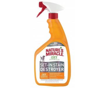 8in1 Nature's Miracle Orange Oxy устранитель пятен и запахов для собак