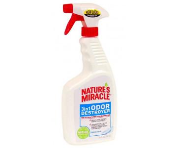 8in1 Nature's Miracle 3in1 Odor Destroyer уничтожитель запахов для собак и кошек