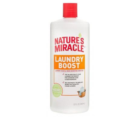 8in1 Nature's Miracle Laundry Boost уничтожитель пятен и запахов во время стирки