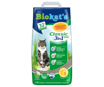 Biokats FRESH (3in1) Наполнитель для кошачьего туалета