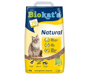 Biokats NATURAL NEW Наполнитель для кошачьего туалета