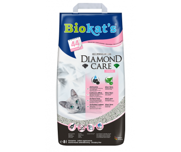 Biokats DIAMOND FRESH Наполнитель для кошачьего туалета