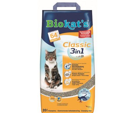 Biokats CLASSIC (3in1) Наполнитель для кошачьего туалета