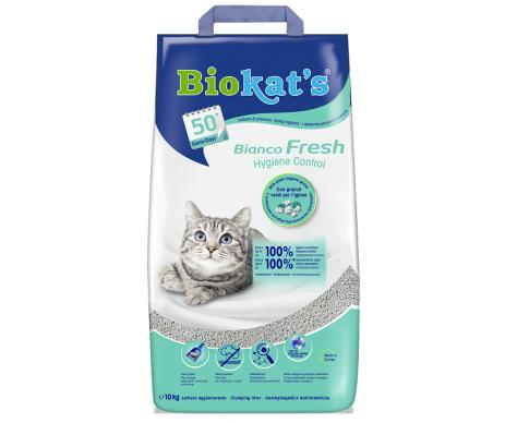 Biokats BIANCO FRESH Наполнитель для кошачьего туалета