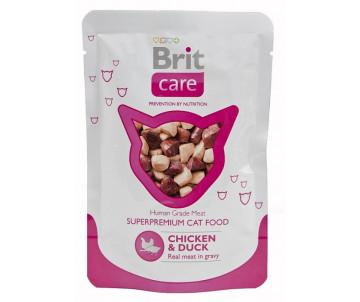 Brit Care Cat Adult Chicken Duck pouch