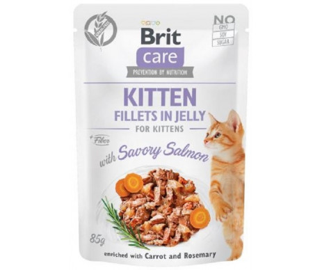 Brit Care Cat Kitten Salmon