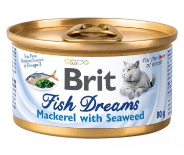 Brit Fish Dreams Cat Mackerel & Seaweed