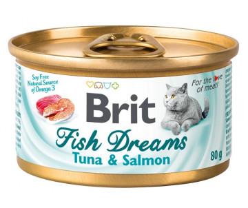 Brit Fish Dreams Cat Tuna & Salmon