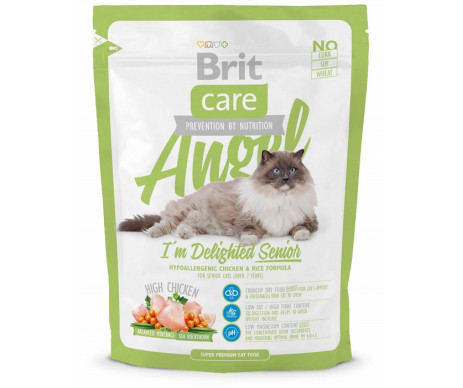Brit Care Cat Senior Angel I am Delighted