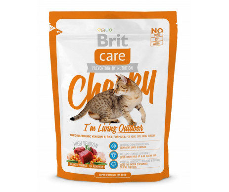Brit Care Cat Adult Cheeky I am Living Outdoor