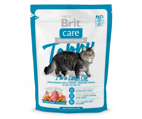Brit Care Cat Adult Tobby I am a Large Cat