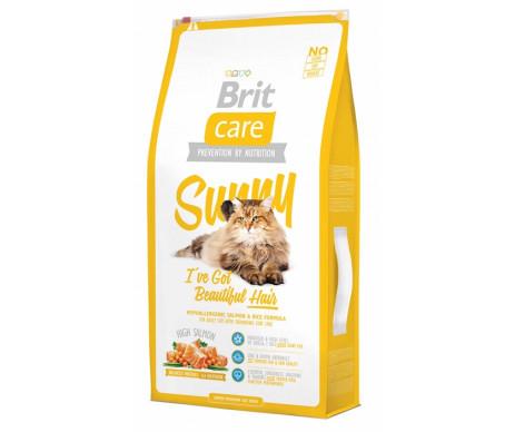 Brit Care Cat Sunny I have Beautiful Hair здоровья кожи и шерсти