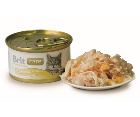 Brit Care Cat Adult Chicken Cheese Wet