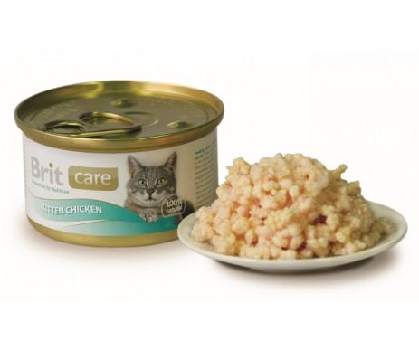 Brit Care Cat Kitten Chicken Wet