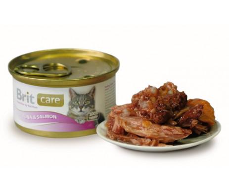 Brit Care Cat Adult Tuna Salmon Wet