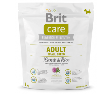 Brit Care Adult Small Breed Lamb&Rice Dog