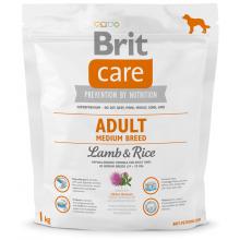 Brit Care Dog Adult Medium Breed Lamb Rice