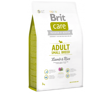 Brit Care Dog Adult Small Breed Lamb Rice