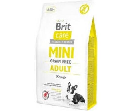 Brit Care GF Mini Adult Lamb для собак малых пород ягненок
