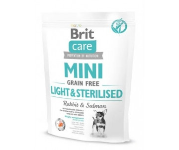 Brit Care Dog Adult GF Mini Light Sterilised