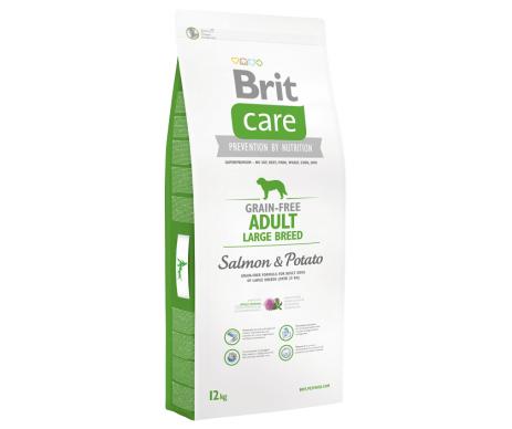 Brit Care GF Adult Large Breed Salmon&Potato для собак весом от 25 кг