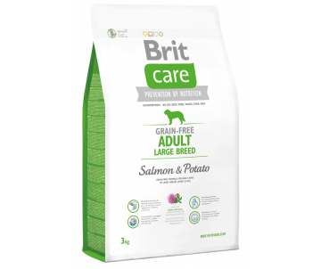 Brit Care GF Adult Large Breed Salmon&Potato Dog