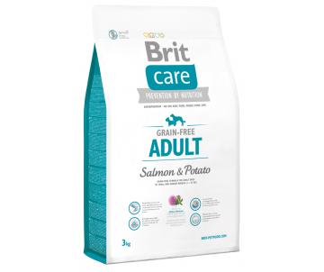 Brit Care GF Adult Salmon&Potato Dog