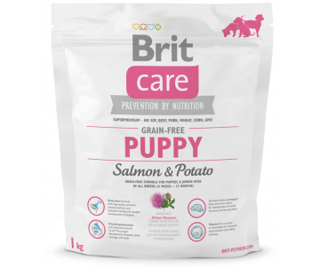 Brit Care Dog Puppy GF Salmon Potato