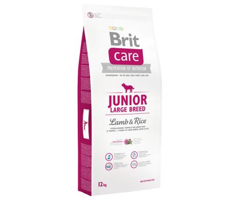 Brit Care Junior Large Breed Lamb&Rice
