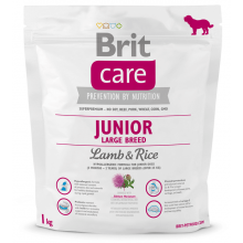 Brit Care Dog Junior Large Breed Lamb Rice