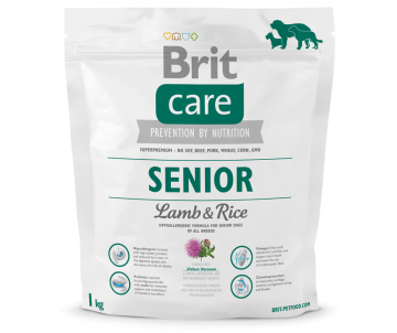 Brit Care Senior Lamb&Rice