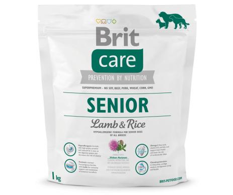 Brit Care Senior Lamb&Rice для пожилых собак всех пород