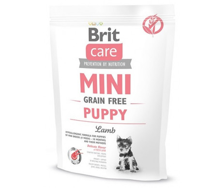Brit Care GF Mini Puppy Lamb для щенков малых пород ягненок
