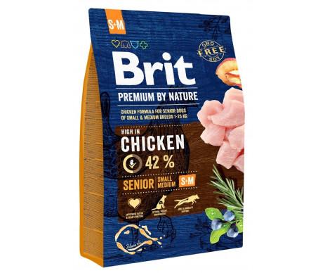 Brit Premium Dog Senior S+M