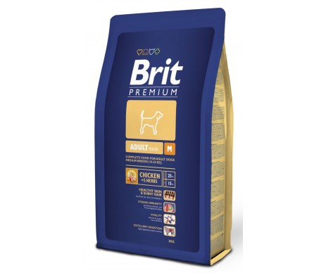 Brit Premium Dog Adult M