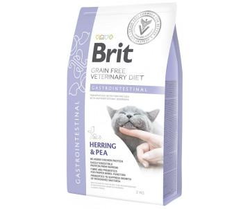 Brit GF Veterinary Diets Cat Gastrointestinal беззерновая диета для котов при гастроэнтерите