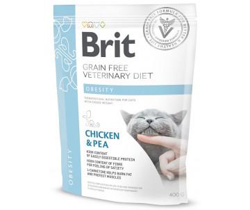 Brit GF Veterinary Diets Cat Obesity беззерновая диета для котов с избыточным весом