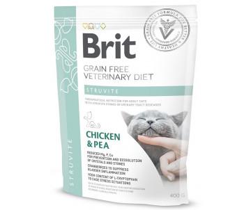 Brit GF Veterinary Diets Cat Struvite беззерновая диета для котов при мочекаменной болезни