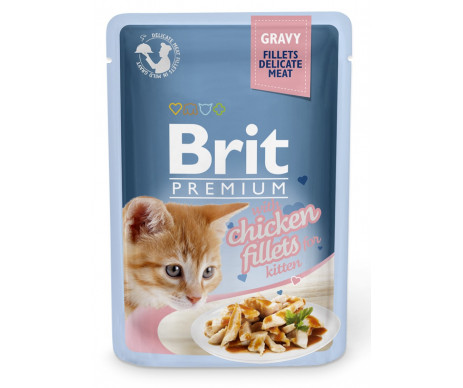 Brit Premium Kitten pouch Chicken Gravy