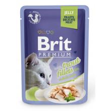 Brit Premium Cat Adult Trout Jelly pouch