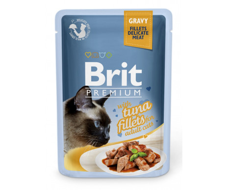 Brit Premium Cat Adult Tuna Gravy pouch