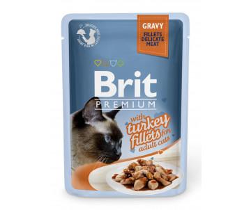 Brit Premium Cat pouch Turkey Gravy