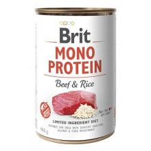 Brit Mono Protein Dog Beef Rice